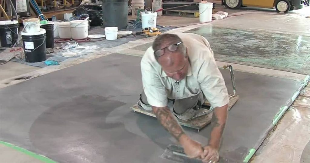 Garage floor repair can be fun