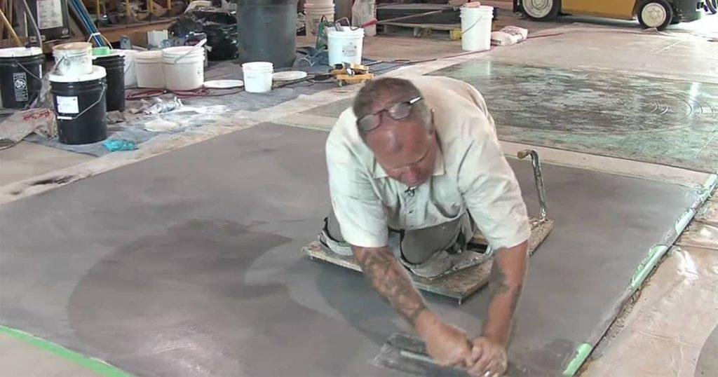 Garage floor repair can be fun
