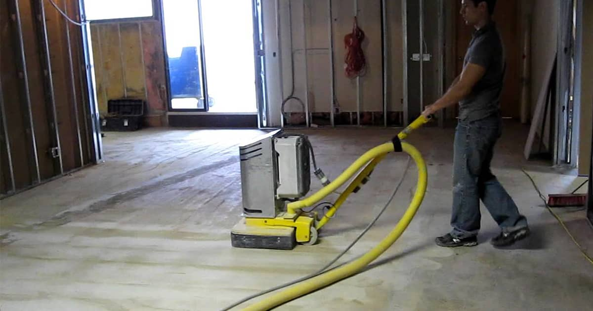 what does sealing garage floor do